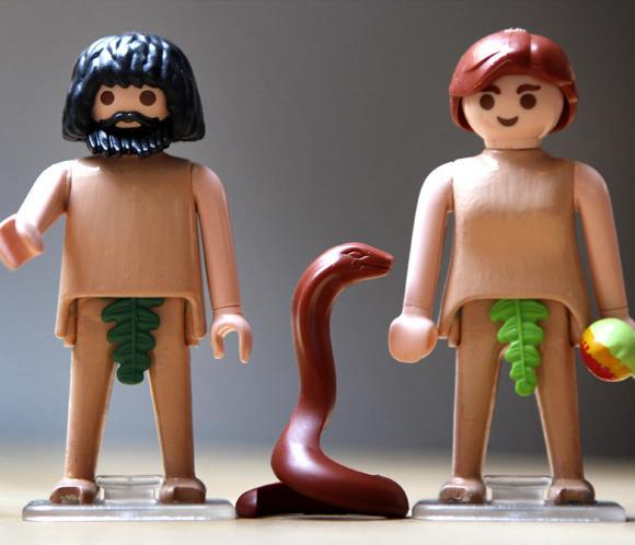 Адам и Ева, первые люди в истории согласно Библии
