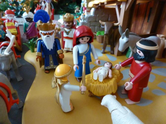 Представление о рождении Иисуса, согласно Библии