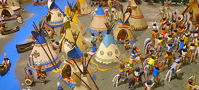 Американские индейцы строят свой город в Кливленде (США)