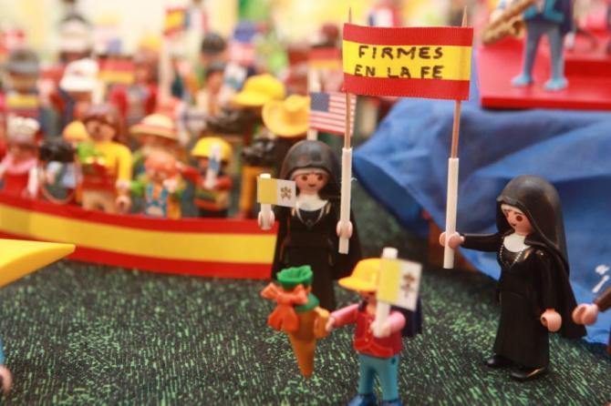 Массовая демонстрация против абортов в Испании