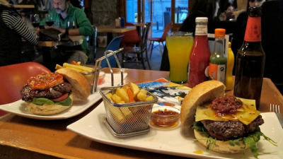 Die besten Hamburger in Madrid