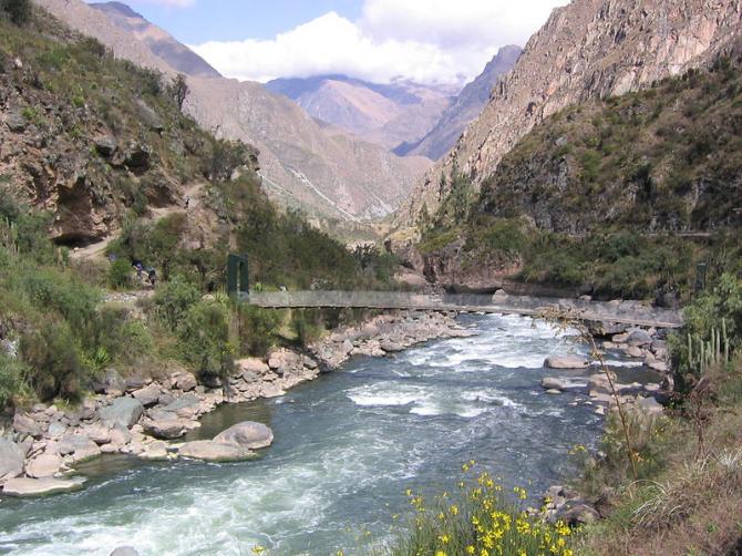 Река Урубамба
