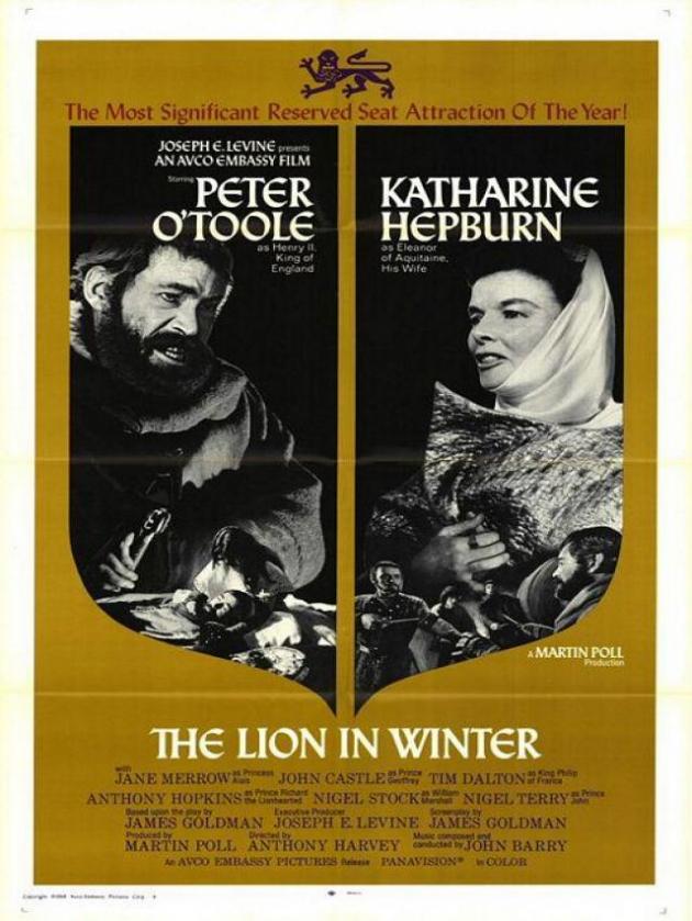 El león en invierno (1968)