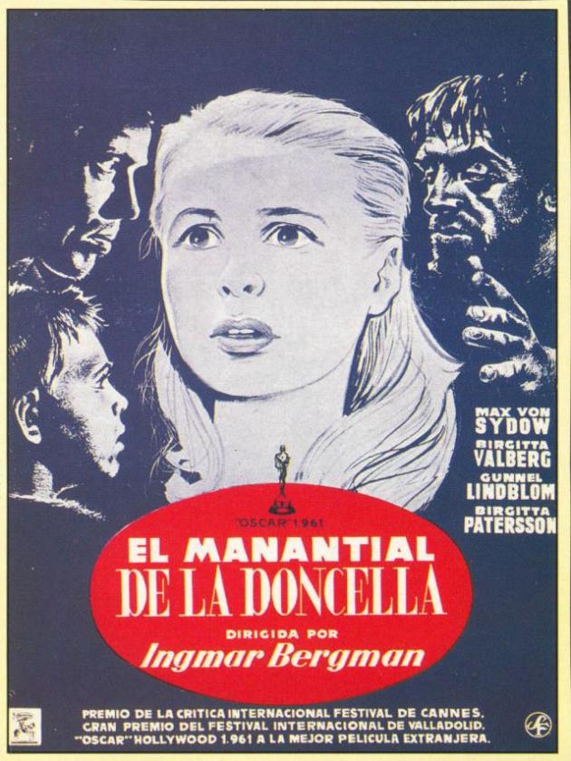 El manantial de la doncella (1960)