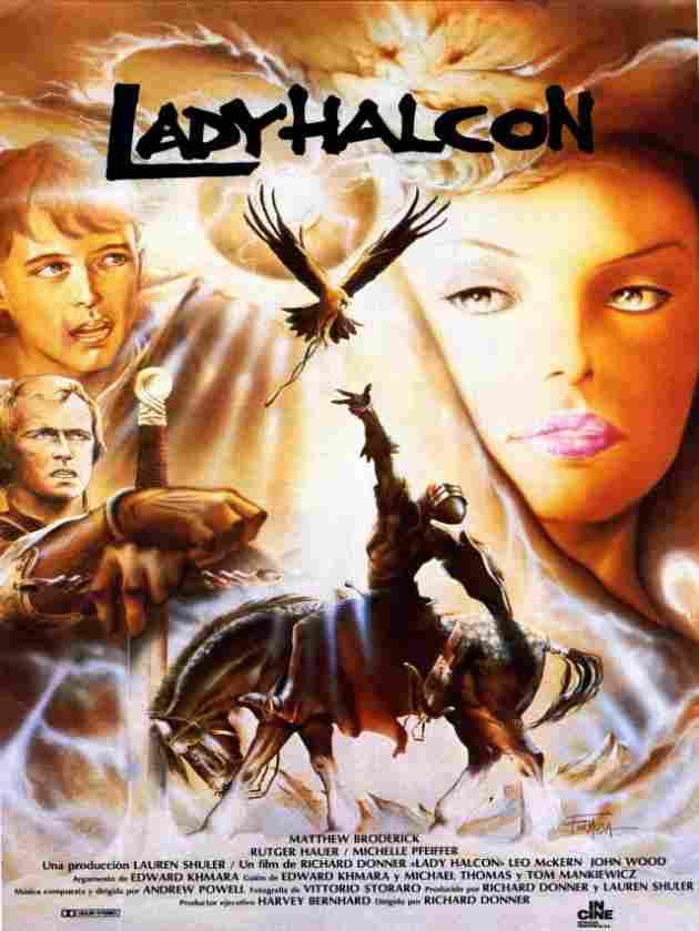 Lady Halcón (1985)