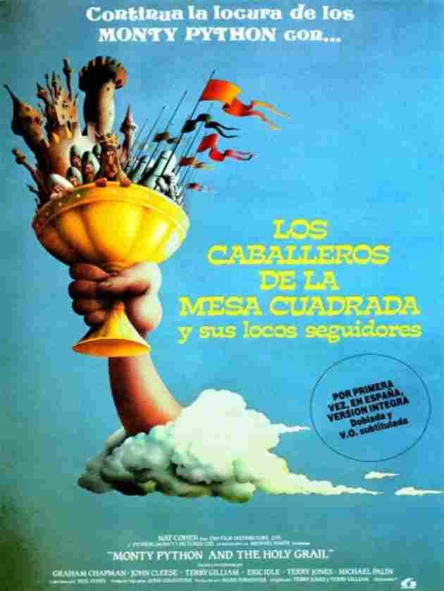 Los caballeros de la mesa cuadrada y sus locos seguidores (1975)