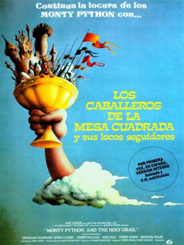 Meja Knights of the Square dan Pengikut Gila mereka (1975)
