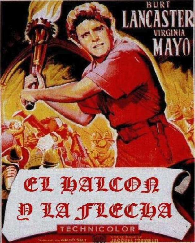 O falcão e a flecha (1950)