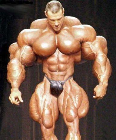 Самый мускулистый мужчина