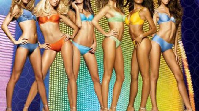 Бразильские модели в Victoria Secrets