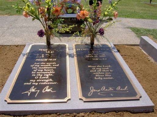 JOHNNY CASH(1932-2003)およびJUNE CARTER CASH(1929-2003)