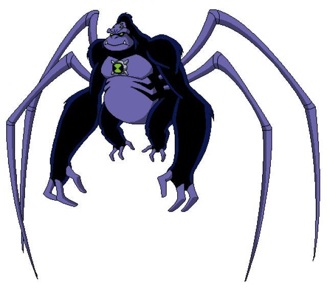 Scimmia ragno finale