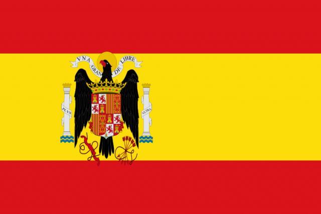 Fazia parte da bandeira espanhola
