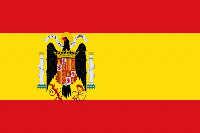 He was part of the Spanish flag
