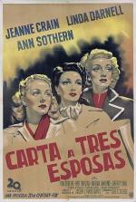 Carta a tres esposas