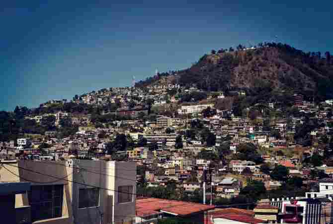 Город Тегусигальпа, Гондурас