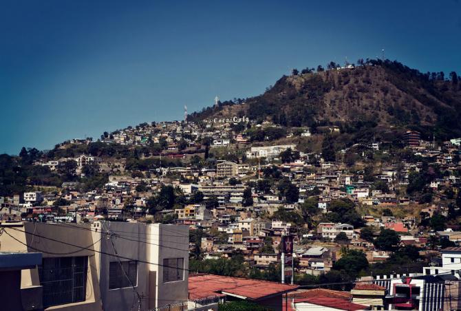 Ville de Tegucigalpa, Honduras