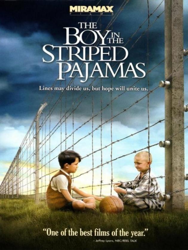 O menino de pijama listrado
