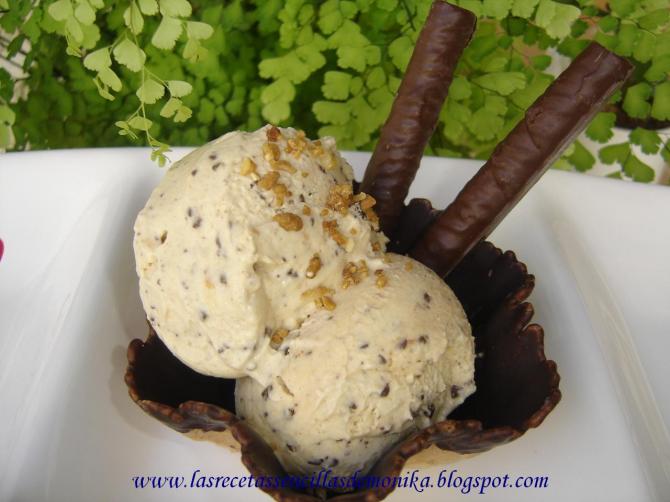 Gofio ice cream