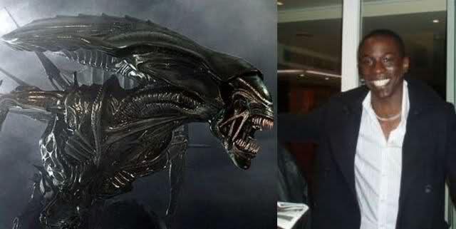 Alien Antagonista - Bolaji Badejo