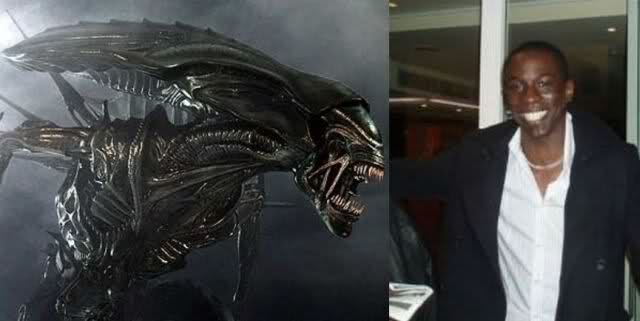 Người ngoài hành tinh Antagonista - Bolaji Badejo