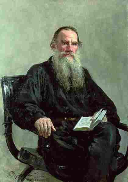 Tolstoy lion.