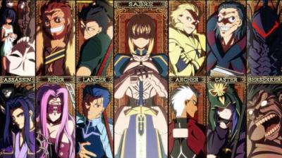 Quel est le meilleur serviteur d'anime: Fate / Stay Night & Fate / Zero