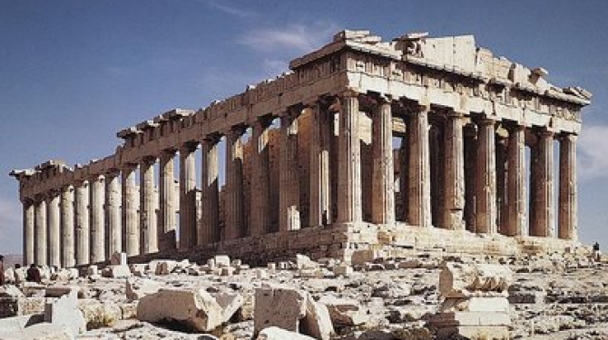 Temples and sacred places for the ancient Greeks