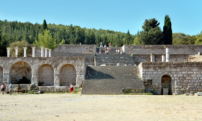 THE TEMPLE OF ASCLEPEION