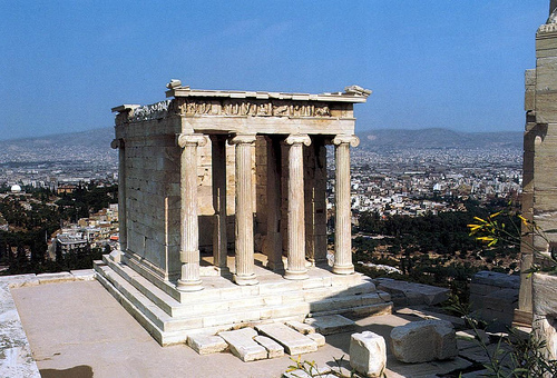 THE TEMPLE OF ATHENS NIKÉ
