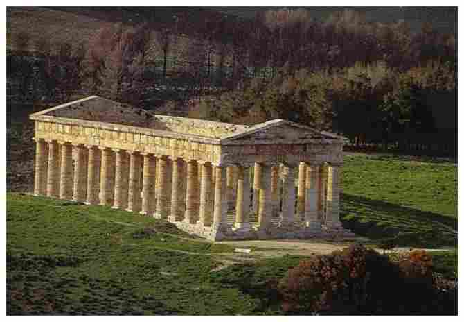 THE TEMPLE OF SEGEST