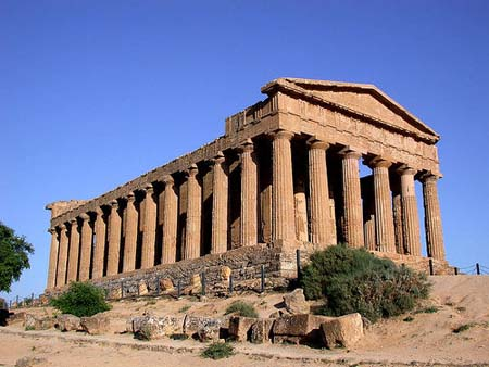 THE TEMPLE OF THE CONCORD
