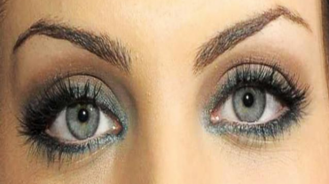 The women with the most beautiful eyes in the world