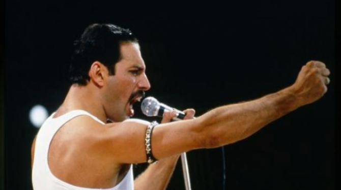 The best concerts of Freddie Mercury (Queen)