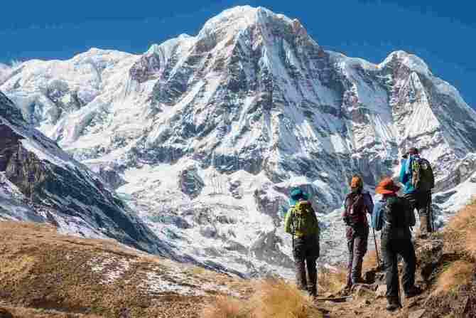 Трасса Аннапурны (Непал)