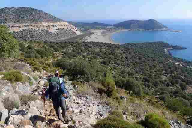De Lycian-route (Turkije)