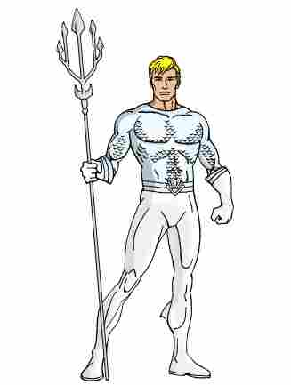 White Lantern Aquaman