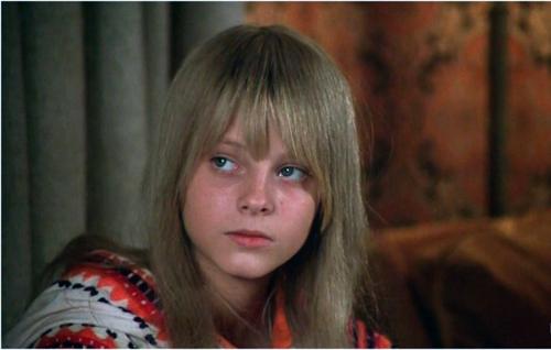 Jodie Foster (a menina que vive na rua)