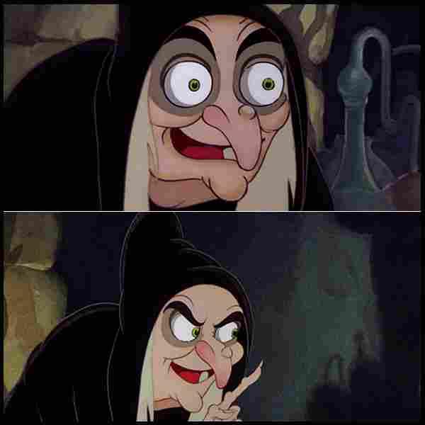 A Bruxa Malvada (Branca de Neve e os Sete Anões, 1937)