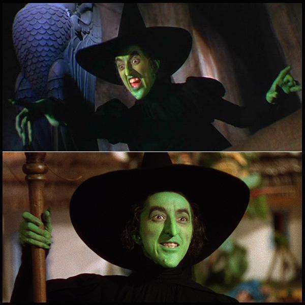 A Bruxa Malvada do Oeste (O Mágico de Oz, 1939)