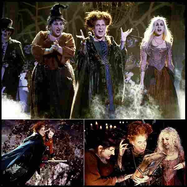 The Sanderson sisters (Hocus Pocus, 1993)