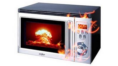 Rzeczy, których nie należy wkładać do kuchenki mikrofalowej