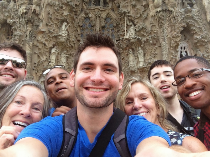 The Sagrada Familia - Barcelona