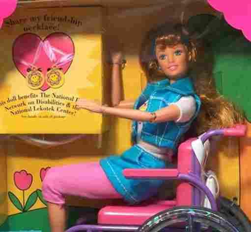 Barbie wheelchair friend