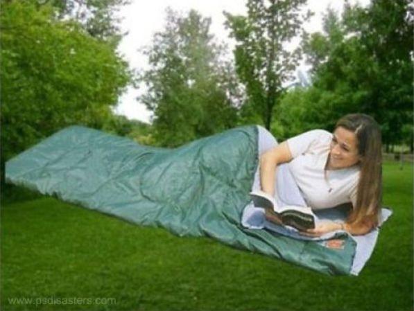 Camping på berget