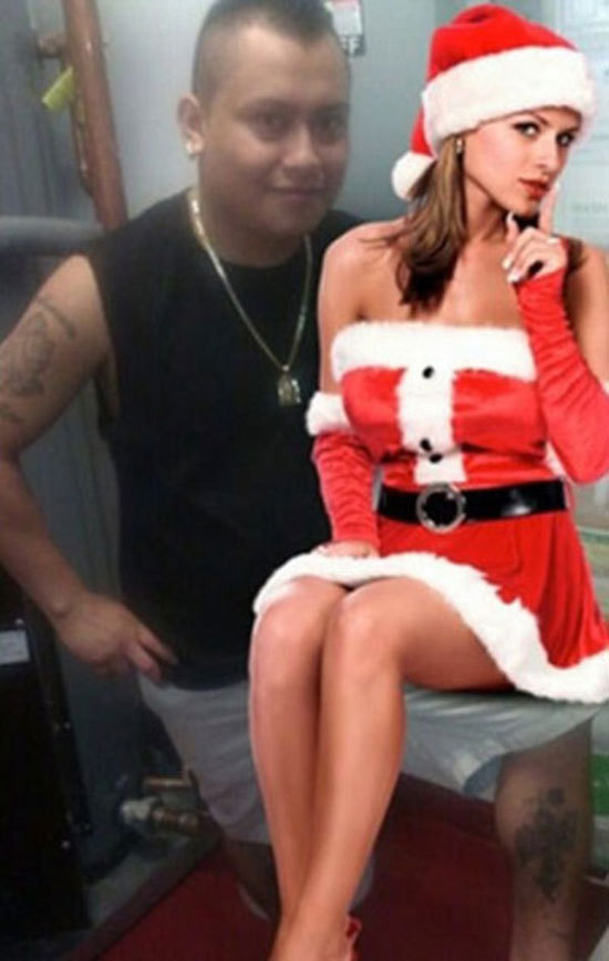 Jul med min flickvän