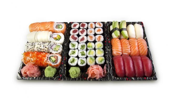 Typer av sushi