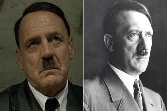 Bruno Ganz entrou na pele de Adolf Hitler