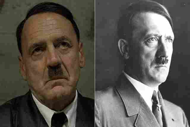 Bruno Ganz got into the skin of Adolf Hitler