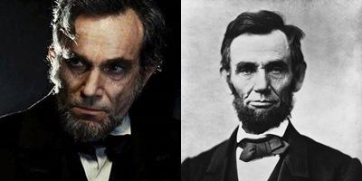 Daniel Day-Lewis memakukan Abraham Lincoln